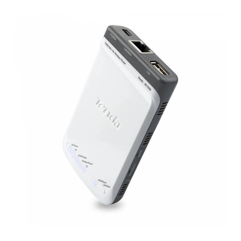 Mini modem Tenda 3G150 Routeur 3G Wireless 150Mbps