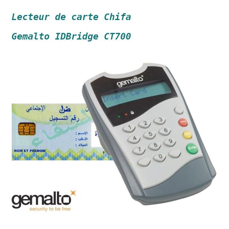 LECTEUR CARTE CHIFA GEMALTO